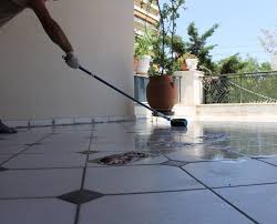 transparent polyurethane coating for waterproofing terraces and