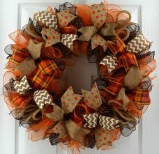 fall wreaths fall door wreath fall mesh wreath fall wreath wreath for fall door