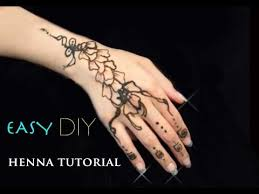 henna tattoo tutorial diy henna designs for beginners youtube