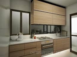 Kitchen Design Hdb Hdb Bto 4 Room Scandinavian At Dawson Skyville
