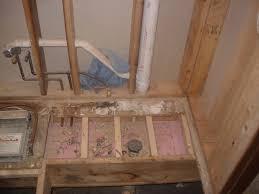 Draining Bathtub Rerouting Shower Drain For Bathtub Plumbing Diy Home