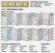 Map Of Provence Streetwise Provence Map Laminated Regional Road Map Of Provence