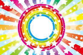 background material wallpaper design pattern wheel of the rainbow