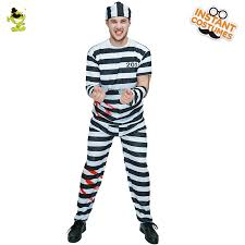 Halloween Inmate Costume Shop Men U0027s Halloween Prisoner Costume Party Role Play
