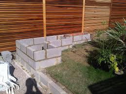 building a garden wall home outdoor decoration