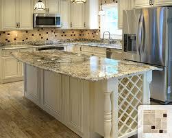travertine backsplash tile kitchen contemporary with granite