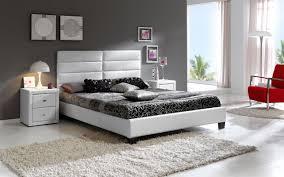 Leather Bedroom Sets Creditrestoreus - White leather headboard bedroom sets