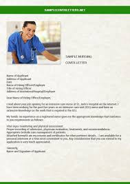 icu nurse sample cover letter innovational ideas nursing resume