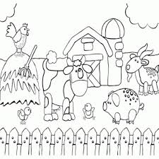 baby farm animals coloring pages farm animal coloring pages