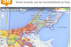 New Orleans French Quarter Map by Ranking New Orleans U0027 Most Walkable Neighborhoods Curbed New Orleans