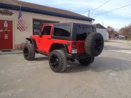 jeep sahara lifted lifted big wheels customs in lafayette indiana