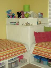 ana white twin storage beds and modified corner unit secret