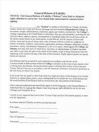 waiver of liability template free invitation templates microsoft