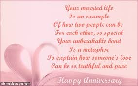 wedding wishes for niece 25th anniversary poems silver wedding anniversary poems