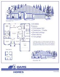 Custom Floor Plans For New Homes by North Port Adams Homes