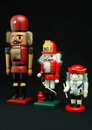 Nutcracker Themed Christmas Decorations by German Christmas Decorations