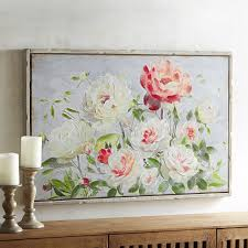 Pink Powder Room Lush Roses Art Pastel Palette Powder Room And Acrylics