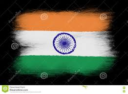 The Indian Flag The Indian Flag Stock Illustration Illustration Of Paint 79530342