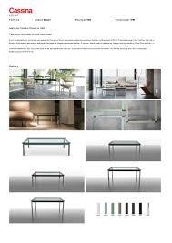 Esszimmerst Le Nl Cassina Lc10 P Tisch Von Le Corbusier Pierre Jeanneret Charlotte