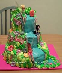 and friends cake coolest tinkerbell and friends cake design