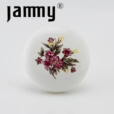 painted ceramic cabinet knobs 5 pcs free shipping 2016 hand painting ceramic cabinet knobs