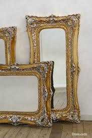gold and silver home decor mirror wonderful white baroque floor mirror home decor ivory