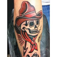 images traditional cowboy skull