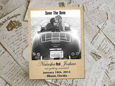 Affordable Save The Dates Wedding Thank You Magnets Ashwoodleaf Rustic Photo Personalized