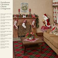 holiday tartan plaid christmas stockings