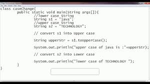 convert upper to lower and lower to upper case letter in java by