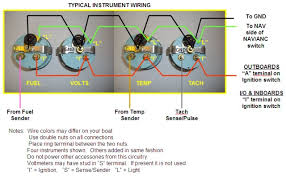 engine wiring johnson outboard tachometer wiring diagram diagrams