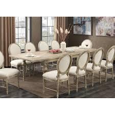 11 dining room set ophelia co lewisboro 11 dining set reviews wayfair
