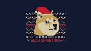 Doge Meme Christmas - page 1 of comments at happy holidays funnyjunk