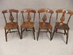 victorian kitchen chairs set of 4 elm u0026 beech chairs