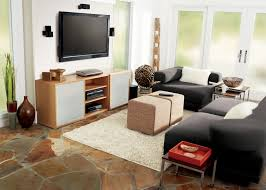 Black Leather Sleeper Sofa by Awesome Layouts From Living Room Layout Ideas Living Room Brown