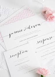 Shabby Chic Wedding Invitations by Wedding Invitation Pink Chevron Romantic Rustic Shabby Chic