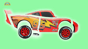 disney cars parts mcqueen to learn colors finger family rhymes