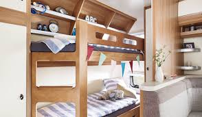 Sturdy Bunk Beds by Equipment Hobby Caravan