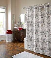 Paris Fabric Shower Curtain by Shower Curtains M Style Designs Monika Murray