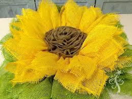 sunflower ribbon sunflower wreath with ribbon center tutorial trendy tree