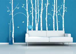birch tree wall decal target design idea and decorations mural