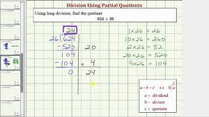 Division Worksheet Without Remainders Ex Division Using Partial Quotient 3 Digit Divided By 2 Digit