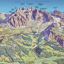 Alps On A Map Pine Jpg