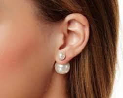 back earrings back earring etsy