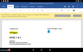 openoffice for android suites bureautiques les meilleures solutions sur android android mt