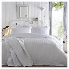 buy white seersucker duvet set king duvet set from our king size