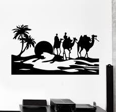 aliexpress com buy hiqh quality vinyl paper wall sticker desert aliexpress com buy hiqh quality vinyl paper wall sticker desert egypt oasis travel camel mirage vinyl decal home decor wall sticker art mural a 76 from