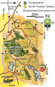 Uganda Africa Map by Bwindi Impenetrable National Park Uganda The Gorilla Talks