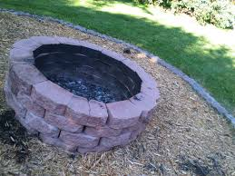 build a backyard fire pit making a fire pit with rocks laura williams