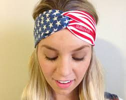 4th of july headband headbands earrings dishes bows prints more by lulabelleandco